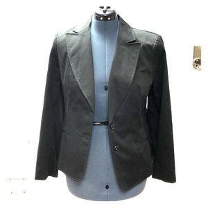 Jones New York Suit Jacket size 14 Blazer Black